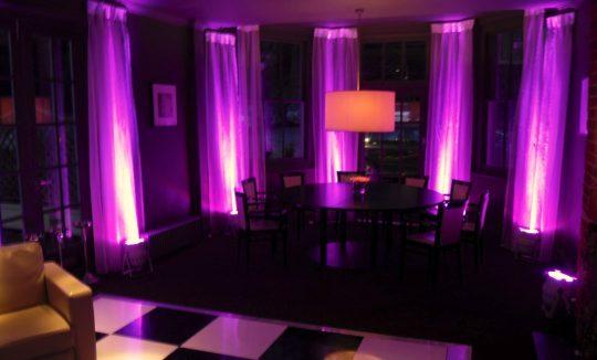 LED Uplighting For Rent