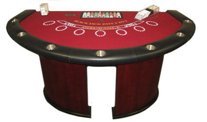 Blackjack Table for Rent